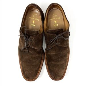 Polo Ralph Lauren Suede Oxfords Bench Made In UK